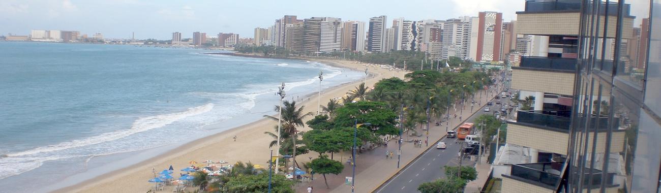 <span>Avenida Beira Mar em Fortaleza</span>